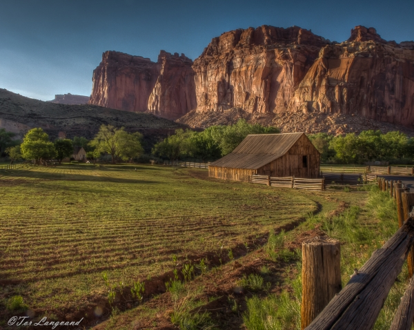 Fruity Barn, Capitol Reef NP