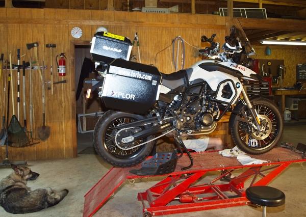 Maintenance F800GS