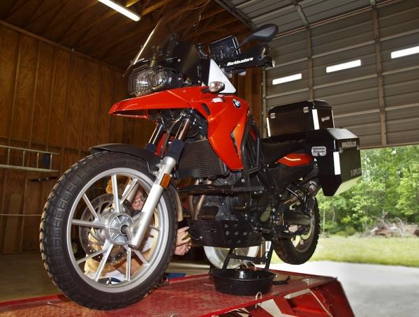 Oil Change F650GS