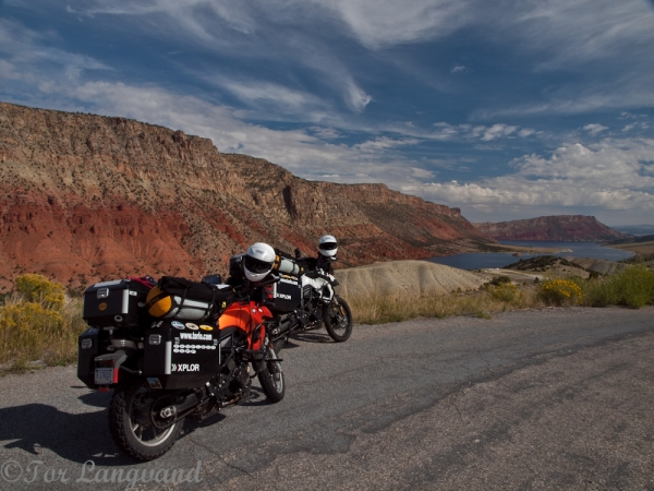 Bikes at Flaming Gorge, UT