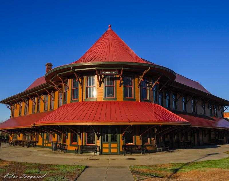 Hamlet, NC Train Station